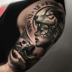 60 Sick Wolf Tattoo Designs for Men - Manly Ink Ideas - # .- 60 Sick Wolf Tattoo Designs für Männer – Manly Ink Ideen – … 60 Sick Wolf Tattoo Designs for Men – Manly Ink Ideas – shape - Wolf Girl Tattoos, Arm Tattoos For Guys, Lower Back Tattoos, Tattoo Wolf, Men Arm Tattoos, Wolf Tattoo Sleeve, Tattoo For Man, Grey Tattoo, Wolf Sleeve