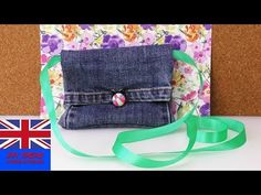 Things to Make With Used Denim Jeans : Style Savvy - YouTube