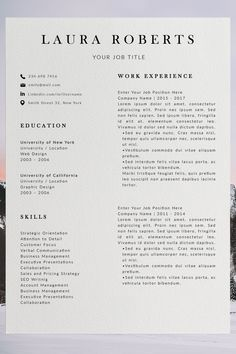 Are you looking for a editable cv example? Sign up for our job search ideas and download this examples for free. You can easily adjust it in Microsoft Word or Pages. Modern Resume Format, Professional Resume Format, Modern Resume Template, Creative Resume Templates, Cv Format, Basic Resume Examples, Simple Resume, Simple Cv, Best Cv Template