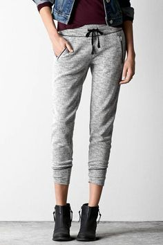 Sweatpants You Can Wear Out Of The House #refinery29  http://www.refinery29.com/chic-sweatpants-under-50-dollars#slide-4  The irony about joggers: They're better for Netflix marathons than actual jogging.