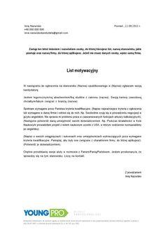 ABC listu motywacyjnego - list motywacyjny jak napisać przykład wzór pisania…