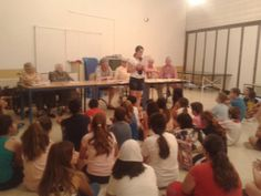 Reunión Colegio Reina Fabiola