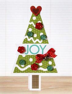 Christmas Tree Cards Designs.Pinterest