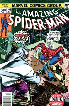 Amazing Spider-Man #163 - AND I miss how there used to be thought balloons - now they don't even use those inside books