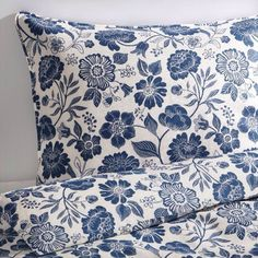 Ikea Angsort Full Queen Duvet Quilt Cover 3p Set Pure Linen French Country Blue #IKEA #FrenchCountry