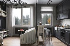 [Projects] Diseño de apartamento en moderno concepto industrial – Virlova Style