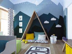 pokój dla chłopca pokój dziecięcy room for boys children's room Jungle Room, Playroom, My House, Kids Room, Toddler Bed, Nursery, Baby, Interiors, Inspiration