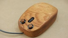Build a Fully Functional Wooden Mouse