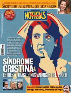 """El """"síndrome Cristina"""" en la portada de @noticiasrevista que sale mañana"""