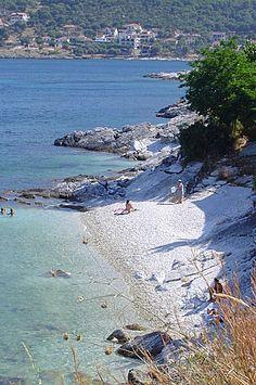 Lithovatis beach - Agia Efimia, Kefalonia / by Kevin36