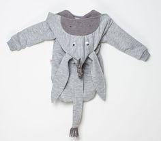Baby BODY - OSIOŁEK - długi rękaw - DIAMENTOWEbySysia - Body dla niemowląt