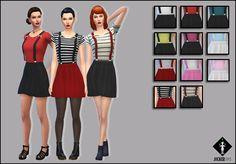 "Jocker Sims : ""Better Love"" ~ Dress with 3D suspenders"