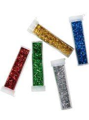 Assorted Glitter Colours Pack of 5