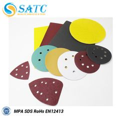 High performance sand paper for wood paint aluminum alloy and auto industry