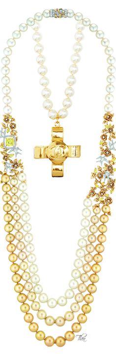 """Chanel ● Les Perles de Chanel ● """"Envolée Solaire"""""""