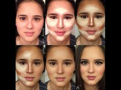 contouring before and after - Google Search