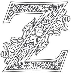 Letter Perfect - Letter Z_image