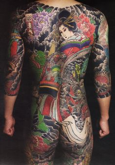Japanese Traditional Tattoo