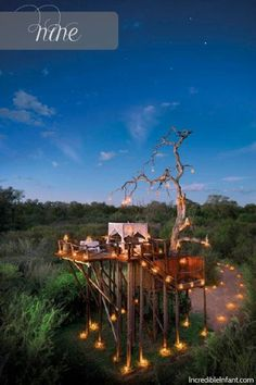 12 Most Spectacular Places to Feed a Baby: No. 9: Stargazing on this platform.