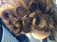#hair #styles #cosmetology #oliverfinley #hairbow #bowbraid #bow #braid #paigelindseycosmetology