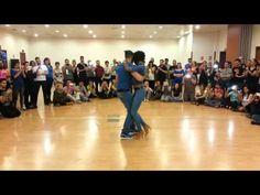 Isabelle y Fèlicien Kizomba medio - INTERNATIONAL KIZOMBA OPEN 2014 2014-11-09 lasalsadelbaile.com - YouTube