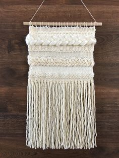 Woven Wall Hanging by Cielo y Mar Designs