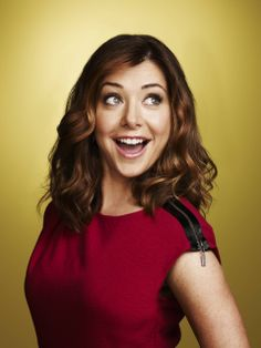 Alyson Hannigan.      You will see her in everything for the next couple of years.