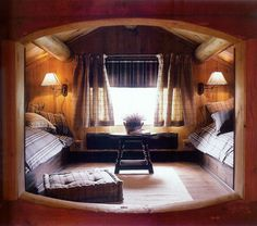 Two bed nook by Hennie Interiors