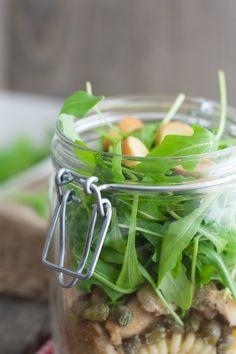Salad Cesar in a Jar