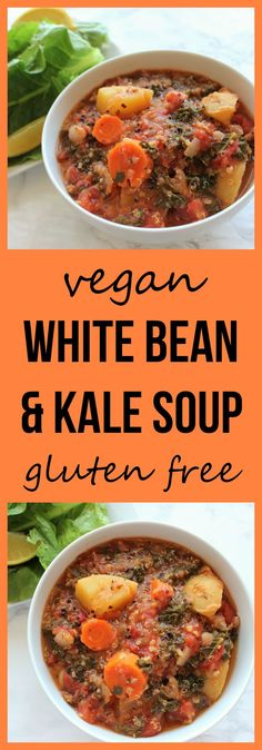 White Bean and Kale Soup [Meal Prep]