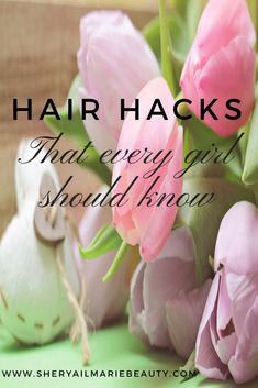Hair Hacks That Every Girl Should Know Beginner Makeup Kit, Static Hair, Custom Christmas Cards, Hacks Every Girl Should Know, Waves Curls, How To Curl Your Hair, Tulips Flowers, Loose Hairstyles, Tulips