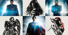 Wolverine Man of Steel Character Posters