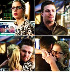 Arrow - Oliver & Felicity #3.12 #Season3 #Olicity <3
