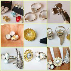 DIY cute rings.. <3 Basic
