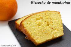 Bizcocho de mandarina para niños