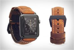 Nomad, specialists in minimalist smartphone and smartwatch accessories, have just presented this beautiful leather strap that gives your Apple watch a classic vintage feel. The rugged strap is made from ultra durable quality leather, with heavy duty,