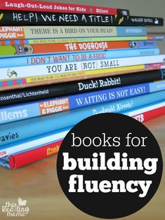 Books for Building Fluency with Readers - This Reading Mama Reading Games, Reading Centers, Reading Resources, Reading Strategies, Reading Activities, Reading Skills, Teaching Reading, Reading Comprehension, Learning