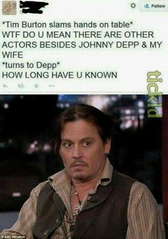 lolz online - Depp Looks Like A Really Unenthusiastic Intern Thinking I Dunno, I Just Work For You Dude Funny Quotes, Funny Memes, Hilarious, Jokes, It's Funny, Very Funny Photos, Funny Pictures, Make Em Laugh, Rio De Janeiro