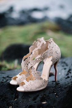 Featured Photographer: Sincereli Photography; Wedding shoes ideas.