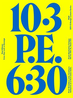 Design Lecture Series: Paul Elliman