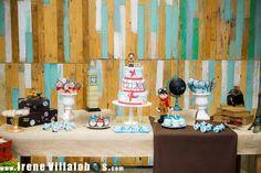 Mesa bolo aviador #decoraçãoLAD