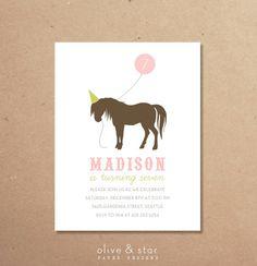 RESERVED LISTING JESSICA    horse  pony kids by OliveandStar
