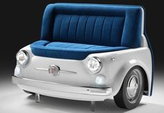 modern furniture design ideas with automotive parts