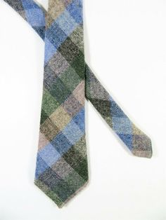 be0fc645e648 A wonderful older necktie made in Ireland by Millars is pure new virgin  wool. From the Clifden Connemara district. A quality made necktie that is  gift ...