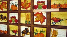 Beauty of Autumn 24x44 Sampler Panel Fabric by Loriscountryfabrics, $6.00