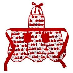 Different fabric, same shape. Should be pretty easy to do - DLGH adorable apple apron @Target {even cuter in person}