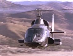 Learn to fly a helicopter. And yes, that is a picture of Airwolf. lol
