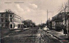 ul. Grunwaldzka (Berlinerstrasse), Bydgoszcz - 1910 rok, stare zdjęcia