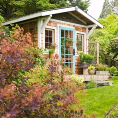 Are you thinking of very creative ideas for your backyard barn? Check out these amazing 20 barn ideas to choose from when considering a backyard barn. Backyard Barn, Backyard Sheds, Outdoor Sheds, Outdoor Landscaping, Garden Sheds, Landscaping Ideas, Backyard House, Shed Design, Garden Design