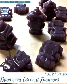 Coconut Blueberry Gummies